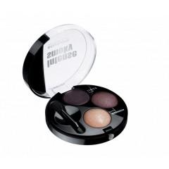 Bourjois INTENSE SMOKY тени для век 2-х цветные и кремовая подводка для глаз, 3,9 g
