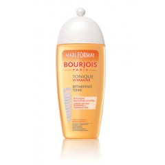 Bourjois VITAMIN-ENRICHED TONER тоник для лица витаминный для всех типов кожи с экстрактом апельсина, 250 ml